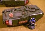 Ironshield with Marine 2