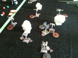 Circling around after the Imperials