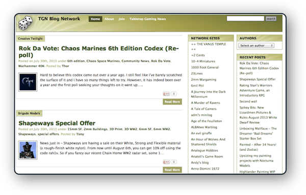 TGN Blog Network