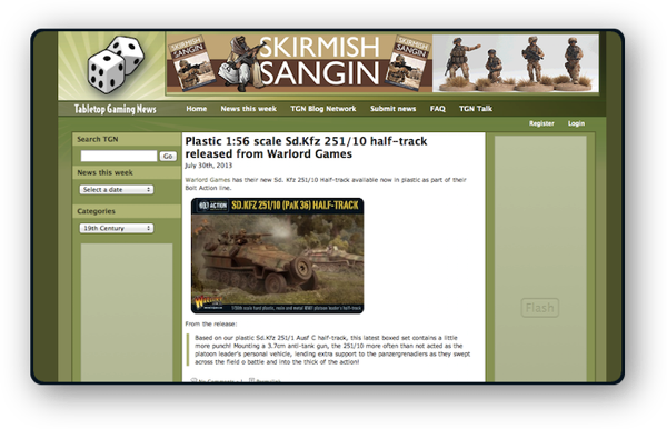 Tabletop Gaming News