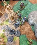 Horsemen attack Ninjas
