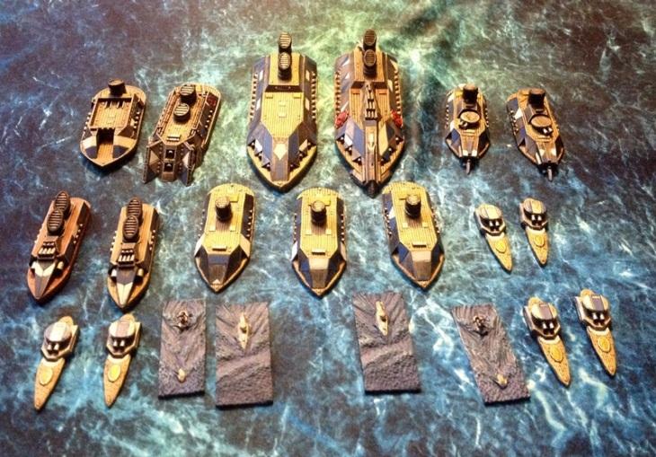 Iron Dwarf Fleet