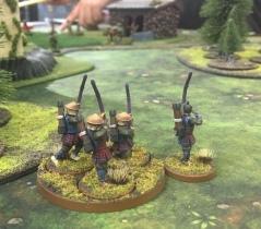 Archers on guard