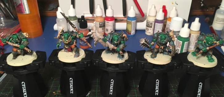 All five brutes