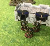 Tsan Ra avoiding fire