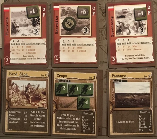 Warfighter WWII cards