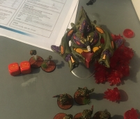 Two failed command rolls
