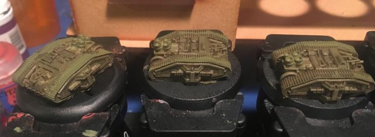 Tanks for the Omnissiah