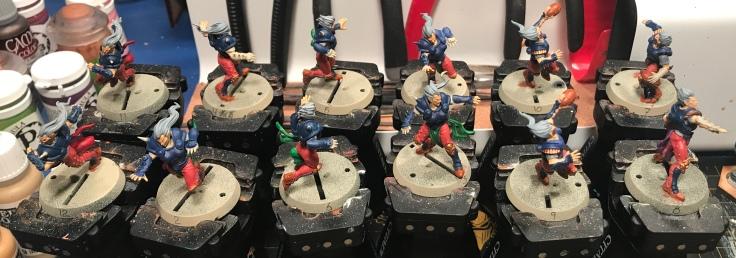 Elf Union Blood Bowl team